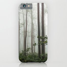 Great Smoky Mountains National Park - Forest Fog Adventure iPhone Case