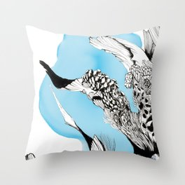 Fish Tale .2 Throw Pillow