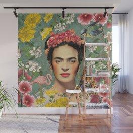 Frida Kahlo X Wall Mural