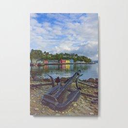 Tobermory 2 Isle of Mull Metal Print