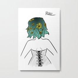 Hairstyle #13 Metal Print