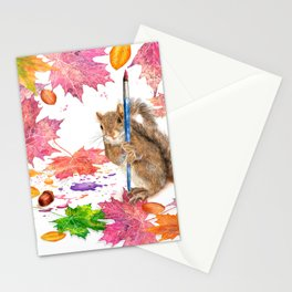 While We Were Sleeping Stationery Cards