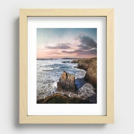 Gwithian Recessed Framed Print