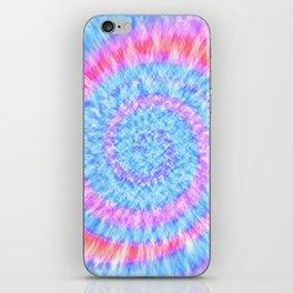 Tie Dye // Pastel Coral iPhone Skin