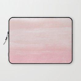 Blush Watercolor Abstract Minimalism #1 #minimal #painting #decor #art #society6 Laptop Sleeve