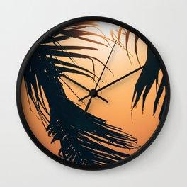 Palm Beach Island Wall Clock