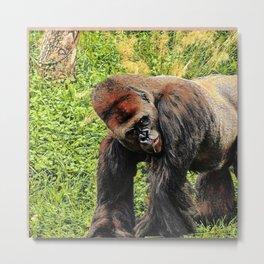 SmartMix Animal-Gorilla 2 Metal Print