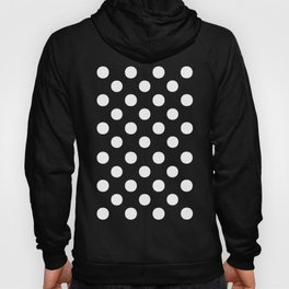 Polka Dots (White/Black) Hoody