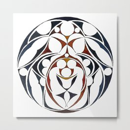 Celtic Circle IV Metal Print