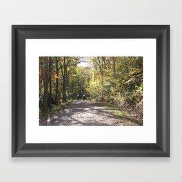 Sharing Moments Framed Art Print