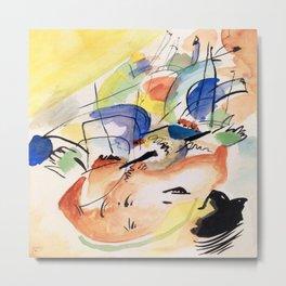 Wassily Kandinsky Improvisation XXXI Metal Print
