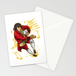 Rugby Wolfgang Amadeus Mozart Stationery Cards