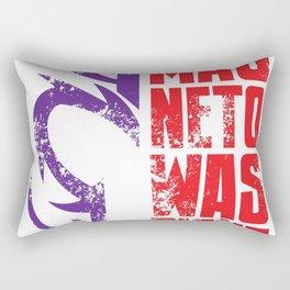 Magneto Was Right! Rectangular Pillow