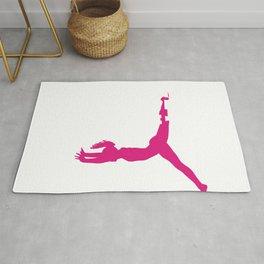 Gymnast Raise Your Feet if You Love Hand Stands Gymnastics Rug