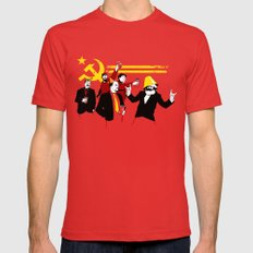 The Communist Party (original) Red MEDIUM Mens Fitted Tee