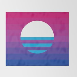 MKE Bi Pride Throw Blanket