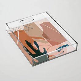 Desert vibes Acrylic Tray