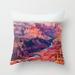 Photos USA Roughlock Falls, Spearfish Canyon, Sout Throw Pillow
