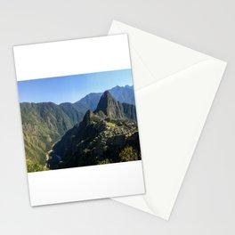 Machu Picchu Panorama Stationery Cards