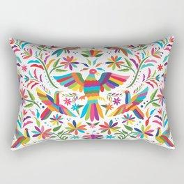 Mexican Otomí Design Rectangular Pillow
