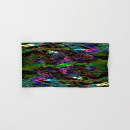 Evening Pond Rhapsody Abstract Hand & Bath Towel