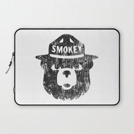 Smokey Bear Distressed Logo Laptop Sleeve