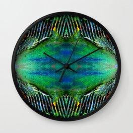 Textured Eye, View 2 Wall Clock