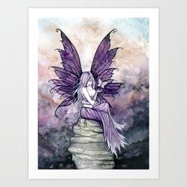 Letting Go Fairy Fantasy Art Kunstdrucke