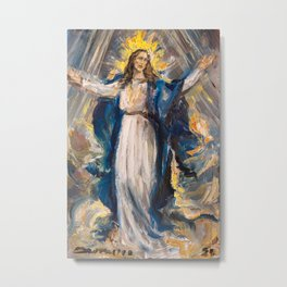 Assumption of Mary Metal Print
