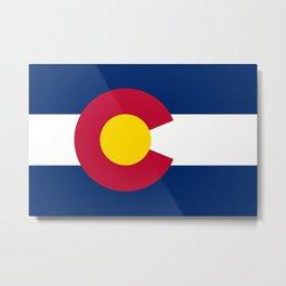Colorado State Flag Metal Print