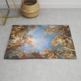 Fresco in the Palace of Versailles Rug