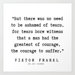 5   | Viktor Frankl Quotes | 191003 Art Print