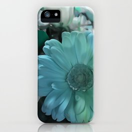 Blue And White Bouquet iPhone Case