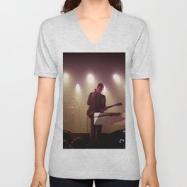 Paul Banks / Interpol at Terminal 5 New York City Unisex V-Neck