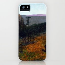 Theodor Kittelsen The Ash Lad and the Troll iPhone Case