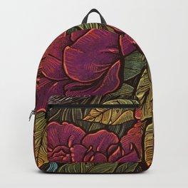 Rose Hen Backpack