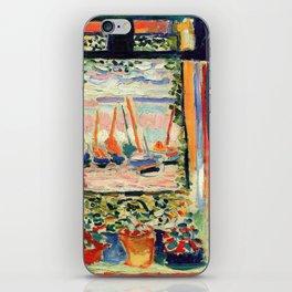 Henri Matisse The Open Window iPhone Skin