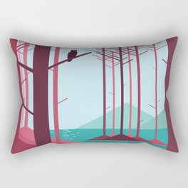 The guardian of the forest Rectangular Pillow