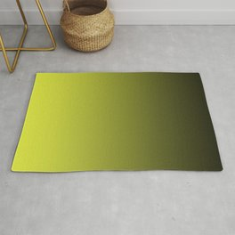 Olive Ombre. Rug