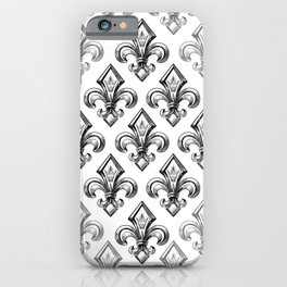 Royal - fleur de lys iPhone Case