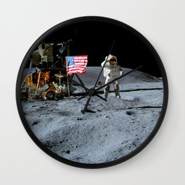 Apollo 16 Wall Clock