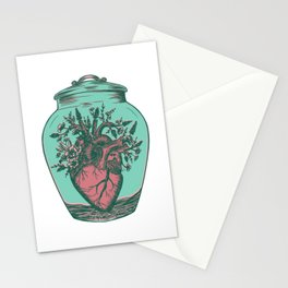 Anahata: Blooming Heart  Stationery Cards