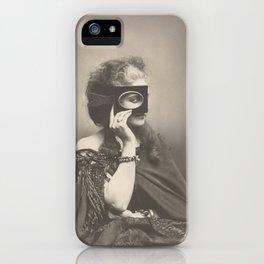 Vintage Photo - Countess Virginia Oldoini Verasis di Castiglione iPhone Case