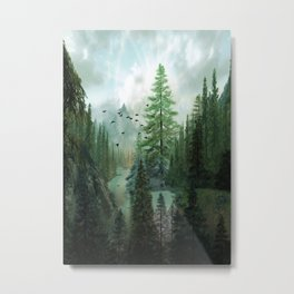 Mountain Morning 2 Metal Print