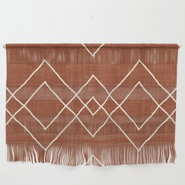 Nudo in Rust Wall Hanging