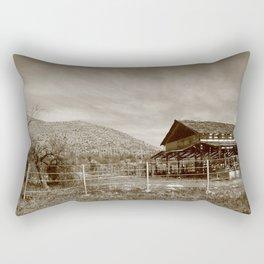 Back at the Ranch Rectangular Pillow