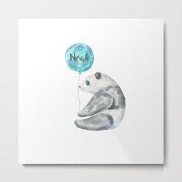 Noah Panda Metal Print