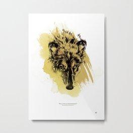 Solitude is independence Metal Print