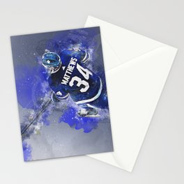 Matthews Leafs Mixed Media Stationery Cards