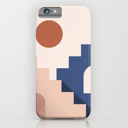 Morocco Abstract 2/3 iPhone Case